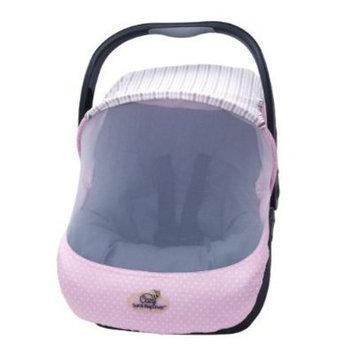 Cozy Sun and Bug Cover UV and Bug Protective Carseat Cover - PINK