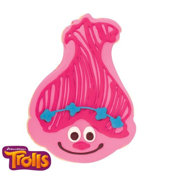 Trolls - Poppy Decorated Cookie