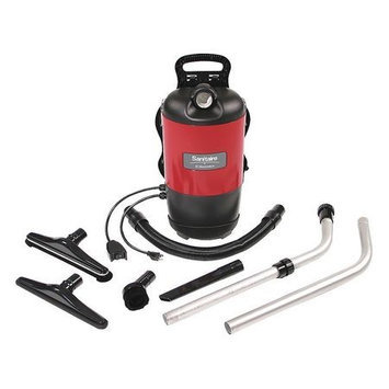 SANITAIRE SC412B Backpack Vacuum Cleaner,120 cfm,120V,6qt