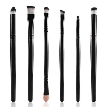 6 Pieces Makeup Brush Set, Staron Makeup Brushes Toiletry Kit Cosmetics Foundation Eyeshadow Eyebrows Make Up Brush Eyelashes Makeup Brushes Set