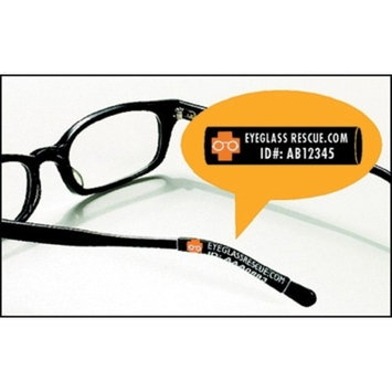 Identification and Protection Eyeglass Sleeves - Item Number 1000KT