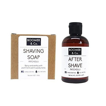 Viane Beaute Patchouli Shaving Kit Sets Grooming Manly Shave Men's [spicy, earthy and prominent warm woody scents]