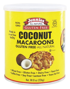 Jennies - Macaroons Coconut - 8 oz(pack of 4)
