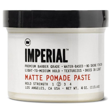 Imperial Barber Products Matte Pomade 4oz - 2 Pack [2 Pack]