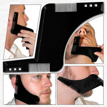 Beard Shaper Tool - Beard Styling Shaping Template Comb Tool PERFECT Gift for Your Boyfriend/Husband/Dad