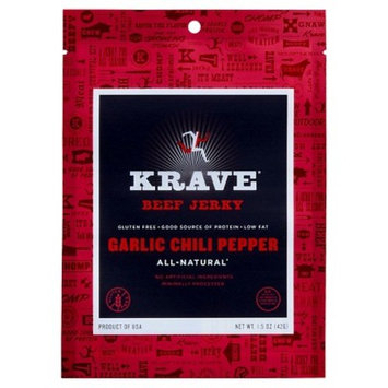 Krave Jerky Garlic Chili Pepper - 2.7oz