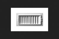 Deflect-o Deflecto RGS84 2-Way Sidewall Register Air Deflector