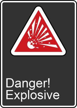 Accu Form DANGER EXPLOSIVE