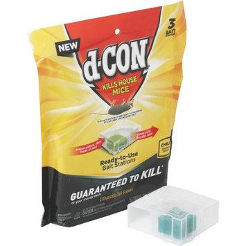 D-Con 1920098342 Mice Disposable Bait Station, 3 Count