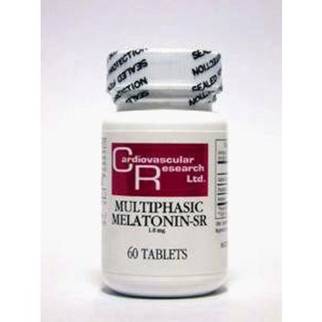 Cardiovascular Research - Multiphasic Melatonin-SR 1.8 mg 60 tabs