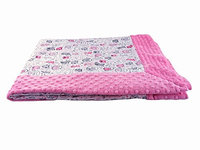 Blue Baby Bum 713869847081 Forever Baby Blanket Meow One Size - Pink White & Grey