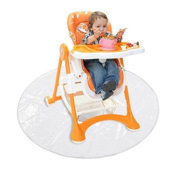 Foerteng Splat Mat Children's Dining Chair Pad Dirt-proof Outdoor Ground Mat Transparent Easy To Clean Play Mat