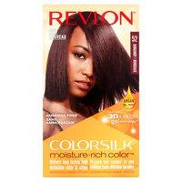 Revlon ColorSilk Moisture-Rich Color 52 Burgundy Hair Color, 1 application