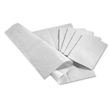 Medline Non24356W Dental Bibs Professional Towel