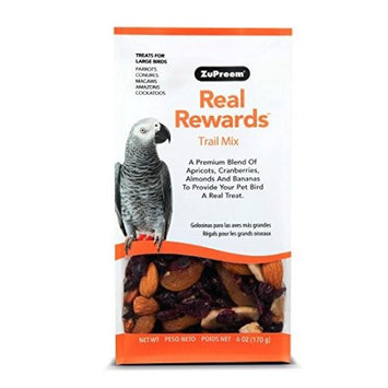 ZuPreem Real Rewards Trail Mix Treats for Large Birds