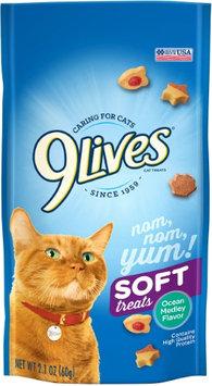 9Lives Tender Ocean Medley Cat Treat Dry Cat Treats, 2.1 Oz