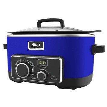 Walbak International Marketing Ltd. Refurbished Ninja 4 In 1 Slow Cooker 6 Qt - Blue