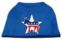 Ahi Democrat Screen Print Shirts Blue Med (12)