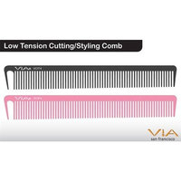 Low Tension Cutting/Styling Comb - Pink (2 pack) by 1stopsalon