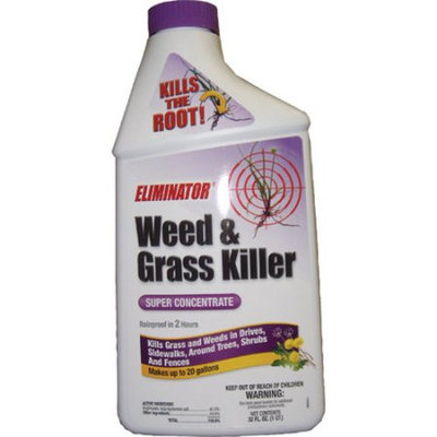 Grotec Eliminator Super Concentrate Weed and Grass Killer, 32 fl oz