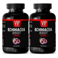 Echinacea purpurea herb - ECHINACEA ROOT EXTRACT - Reduces Candida - 2 Bottles 200 Capsules