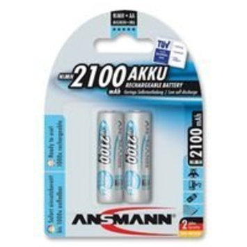 ANSMANN 2400mAh NiMH AA High Capacity Rechargeable [AA 2400mAh NiMH Rechargeable]