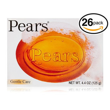 Pears Transparent Soap Gentle Care 4.4 Oz. by Pears (Gentle Care (Pack of 26 Bars (4.4oz Each Bar)))