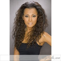 SASHA (Carefree Collection) - Synthetic Half Wig in DARK BROWN