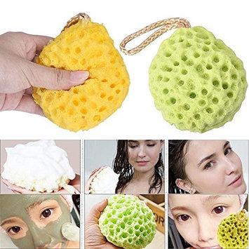 2 Pcs Loofah Sponge,Fenleo Natural Bath Scrubber Shower Spa Sponge Bath Body Shower Cleaning Scrub