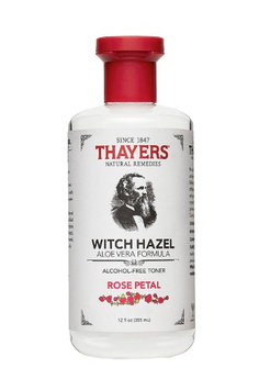 Thayers Rose Petal Witch Hazel Alcohol-Free Toner with Aloe Vera 12 oz - Pack of 3