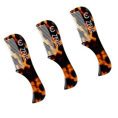 ZEUS Handmade Saw-Cut Mustache Comb - 3