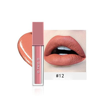 Adoeve Velvet Matte Waterproof Moisturizing Makeup Lip Long-lasting Lip Gloss Lip Glosses