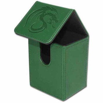 BCW Padded Leatherette Deck Case LX, Green