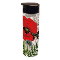 The Lang Companies LANG RED POPPY ACRYLIC INFUSER TUMBLER