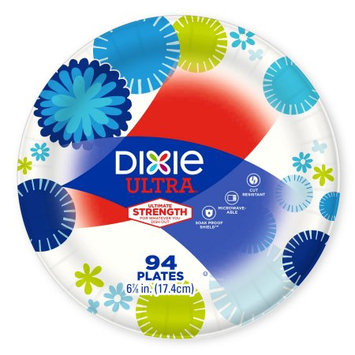 Dixie Ultra Paper Plates, 6 7/8', 94 Ct
