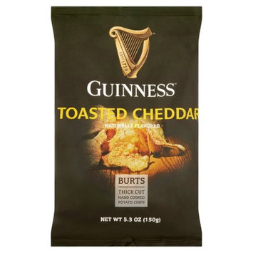 Burts Potato Chips Limited Burts, Chip Pto Guinness Cheddar, 5.3 Oz (Pack Of 10)
