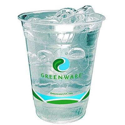 Fabri Kal Fabri-Kal 9509206.04 16 oz Greenware Cup Stock Print Clear - Case of 1000