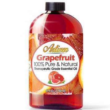 Artizen Grapefruit Essential Oil (100% Pure & Natural - Undiluted) Therapeutic Grade - Huge 4oz Bottle - Perfect for Aromatherapy, Relaxation, Skin Therapy & More!