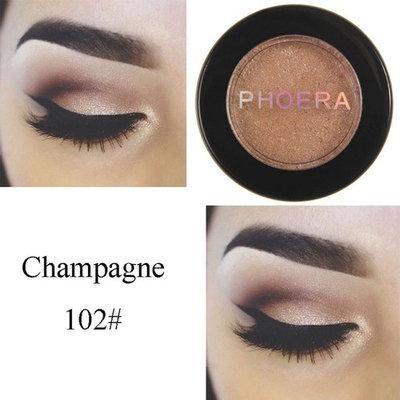 Exteren Natural Eye Shadow Makeup Shimmering Cosmetic Pearl Metallic Smoky Eyeshadow Palette