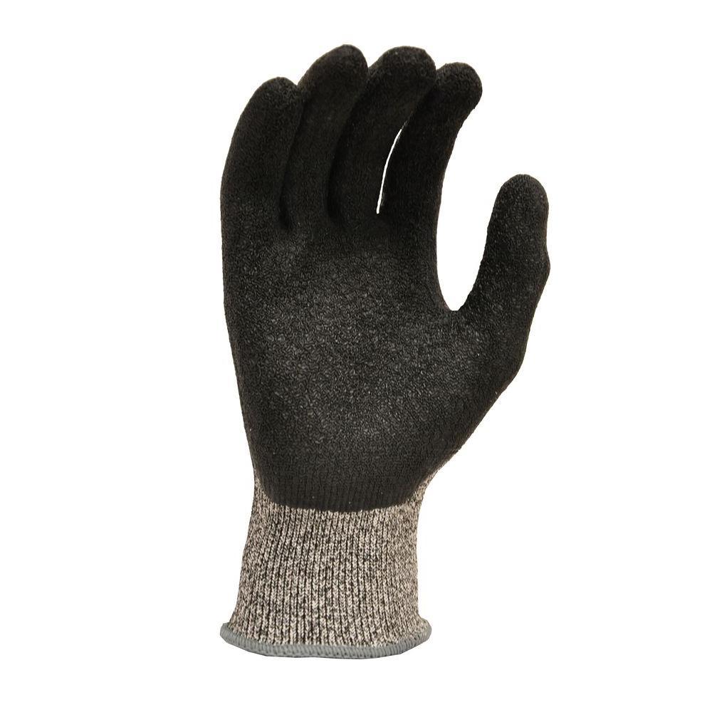 Gardening Gloves: G & F Safety Gloves CutShield Medium Grey Grip Cut Slash Puncture Resistant Gloves Blacks 22600M