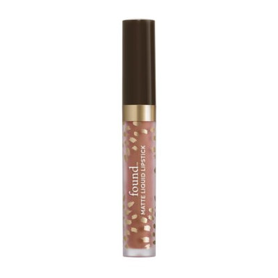 FOUND Matte Liquid Lipstick with Evening Primrose Oil, 210 Caramel, 0.11 fl oz