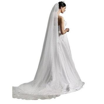 Shop Ginger Wedding 1T Cathedral Royal Cut Edge Bridal Veil Extra Wide Handmade USA