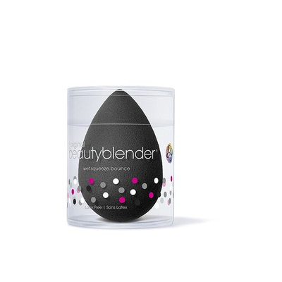 Pro Makeup Sponge, Black, Pro is the perfect application method for darker-toned products that would be difficult to rinse clean from a lighter.., By beautyblender