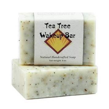 Tea Tree Oil Soap by MoonDance Soaps - Handmade Soap with Tea Tree and Peppermint Essential Oils [Tea Tree and Peppermint]