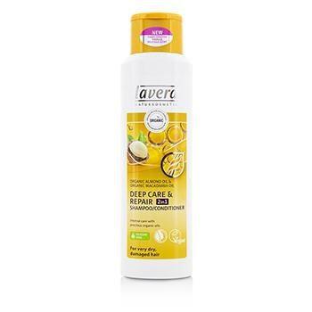 Lavera Deep Care & Repair 2in1 Shampoo & Conditioner