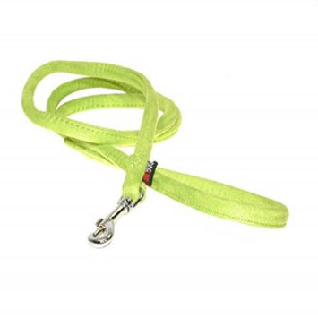 Dogline M8046-5 4 ft. L x 0. 38 W inch Comfort Microfiber Round Leash, Green