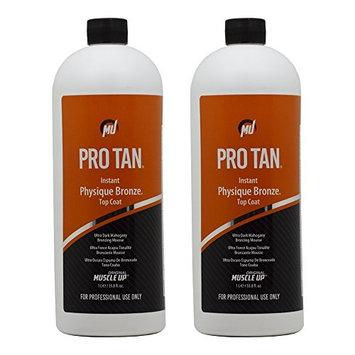 Pro Tan Instant Physique Bronze Top Coat Ultra Dark Mahogany Bronzing Mousse 33.8oz