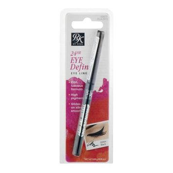 Kiss Products Inc RK by Kiss 24HR Eye Define 65877 Glitter Black Eye Liner, 0.01 oz