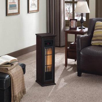 Twin Star International, Inc. ChimneyFree Infrared Quartz Heater, Dark Espresso