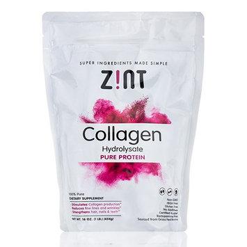 Zint Collagen Peptides Protein Powder 1 Lb. Bag